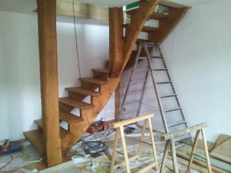 Treppe Buser Holzbau Liestal 0909889